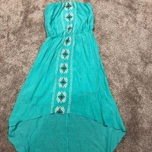 S Bohemian Style Strapless Dress / Trixxi